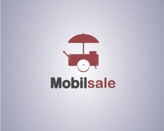 cart,sale,mobil logo