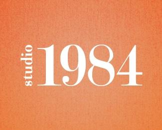 photography,studio,number,numerical,1984 logo