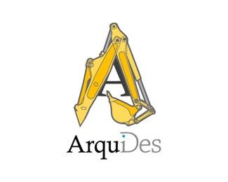 machine,architecture,big font logo
