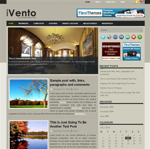 ads ready,dark colors,entertainment,footer columns,games,interior,simple,web 2.0 wordpress theme