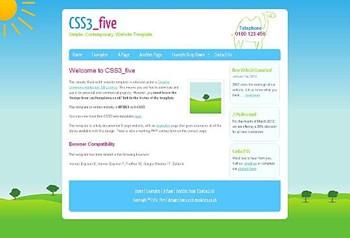 art,corporate,education,personal website template