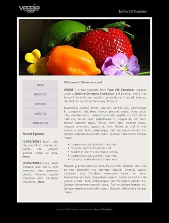 flower,fruits,vegetables website template