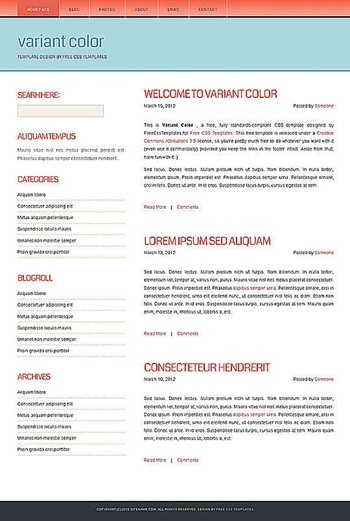 blog,business,corporate website template