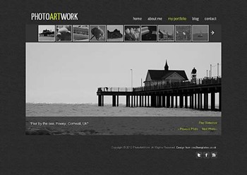 art,blog,business,personal,portfolio website template