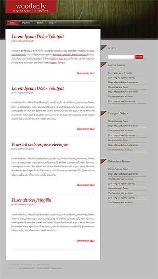 grass,nature website template