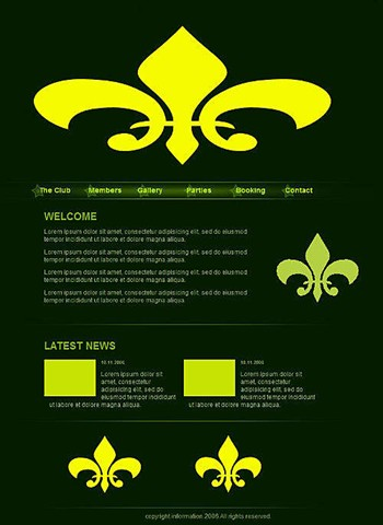 business,clean website template