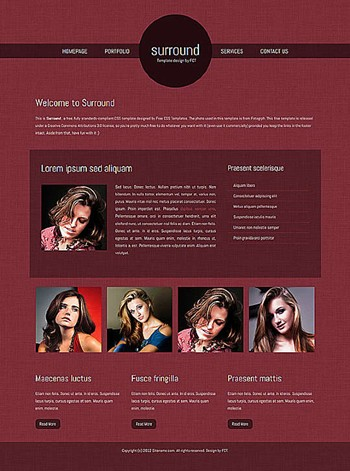 business,computers,personal website template
