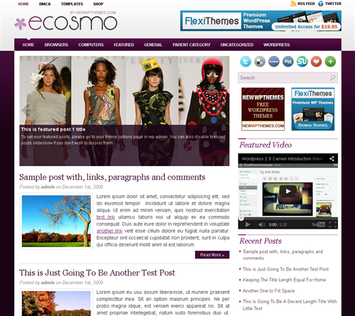 ads ready,fashion,footer columns,people wordpress theme