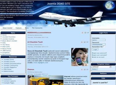 ads ready,business,dark colors,joomla,travel,web 2.0 other template