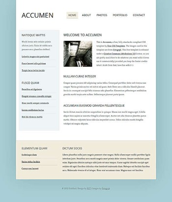 blog,business,personal website template