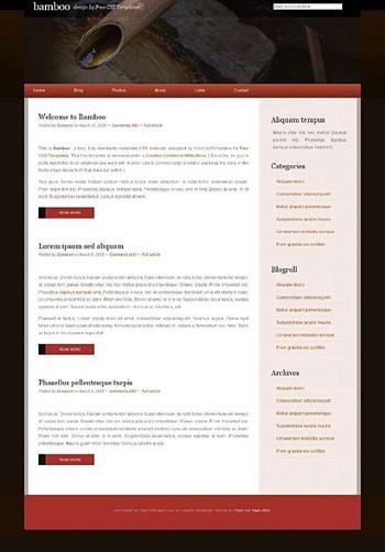 flow,nature,water,zen website template