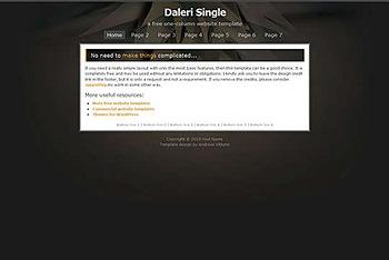 business,corporate website template