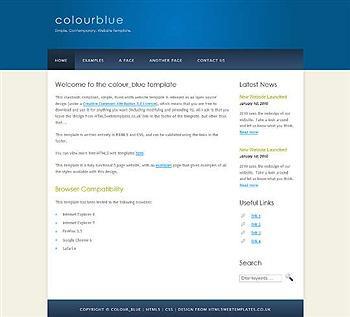 blog,css,html5 website template