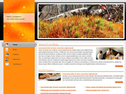 animals,art,health,nature website template