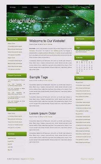 nature,plant website template