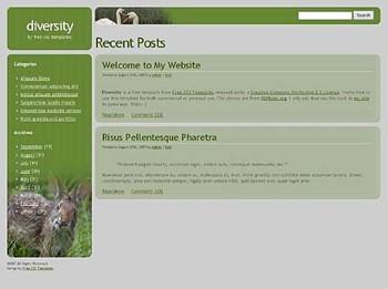 animals,pets website template