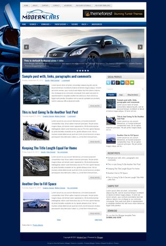 ads ready,slideshow,web 2.0 blogger template