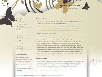 art,business,corporate,nature website template