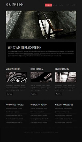 blog,corporate,personal,portfolio website template