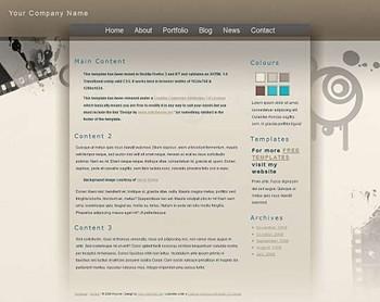 art,business,corporate,film website template