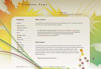 art,business,corporate,nature website template