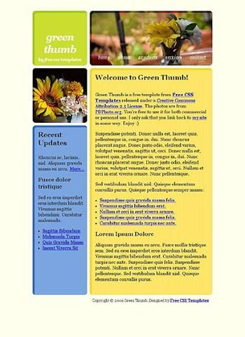 flower,garden,sunflowers website template