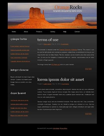 business,nature,personal,travel website template