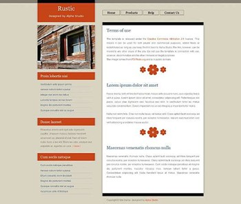 business,corporate website template