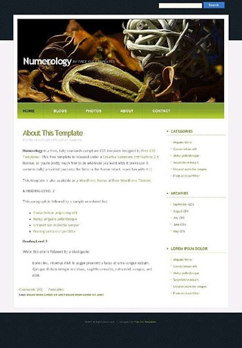 ropes,shell website template