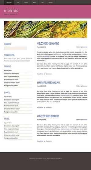 blog,business,portfolio website template