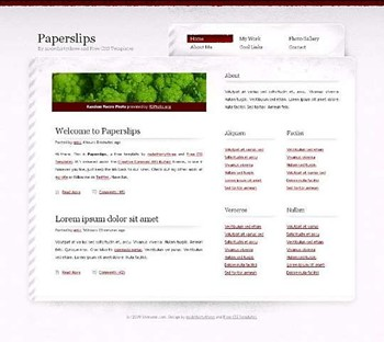 nature,plant website template