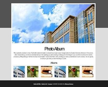 business,gallery,portfolio website template
