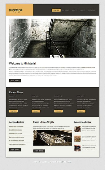 blog,business,personal,portfolio website template