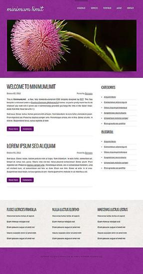 blog,business,corporate,portfolio website template
