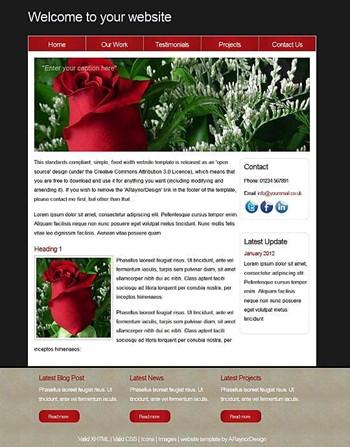 business,nature,personal,portfolio website template