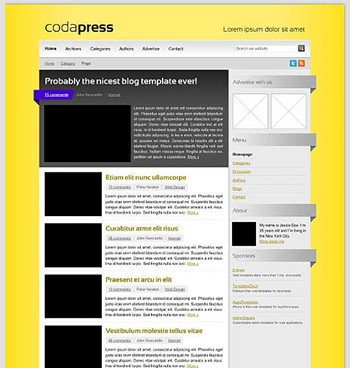 blog,business,corporate,css,html,magazine website template