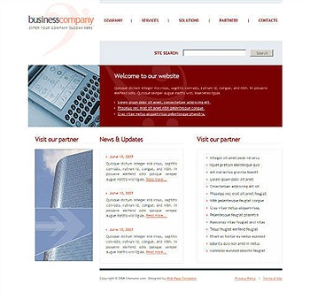 computing,corporate,pda,technology website template