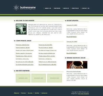 corporate,technology website template