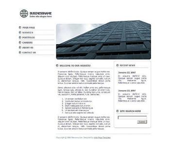 architecture,corporate website template