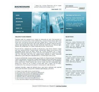 architecture,corporate,skyline website template