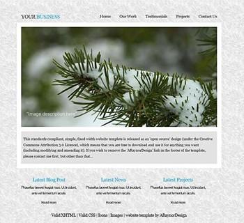blog,corporate,nature,personal,portfolio website template