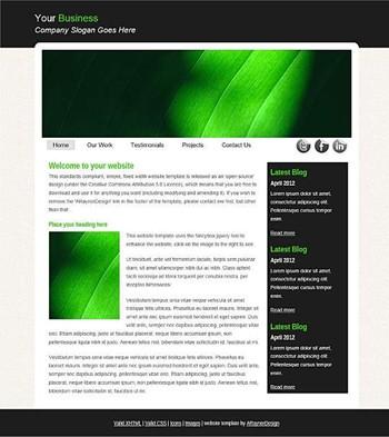 blog,business,computers,personal,portfolio website template