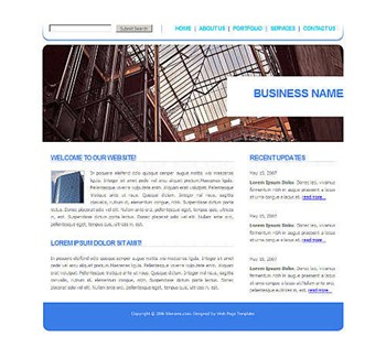 architecture,corporate website template