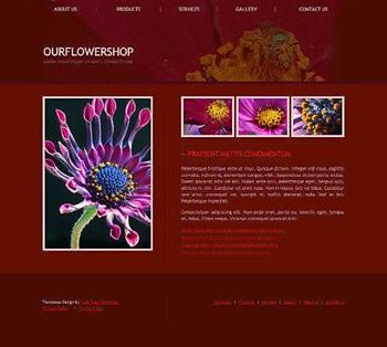 nature website template