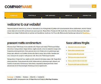 neutral,plain,simple website template