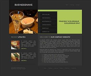 dining,food,restaurant,wine website template