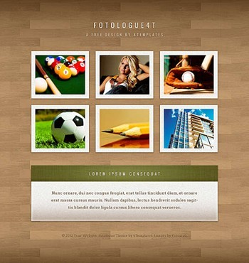 gallery,jquery,portfolio website template