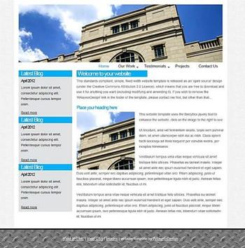 blog,business,corporate,personal,portfolio website template