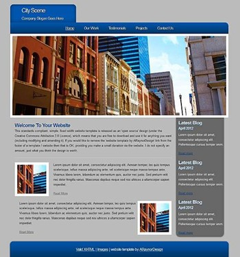 business,computers,corporate,personal,portfolio website template
