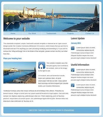 business,personal,shop website template